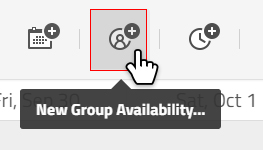 add new group availability