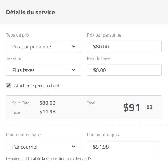 Prise de rendez-vous et paiements en ligne