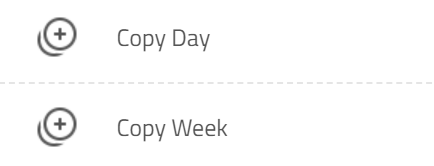 copy day or week