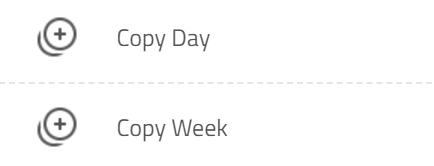 copy day or week