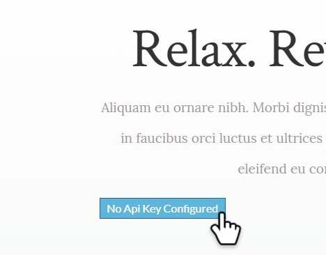 bouton rendez-vous Weebly