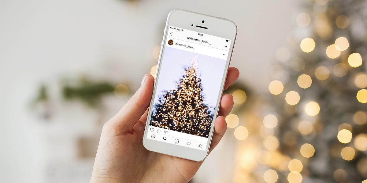 publiez régulièrement sur vos réseaux sociaux pendant les fêtes